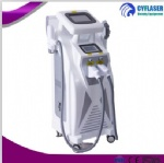 Professional 4 in 1 OPT SHR ND YAG LASER IPL RF multifuctional tattoo removal beauty machine