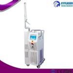 Fractional co2 laser for wrinkles removal and stretch marks improve equipment